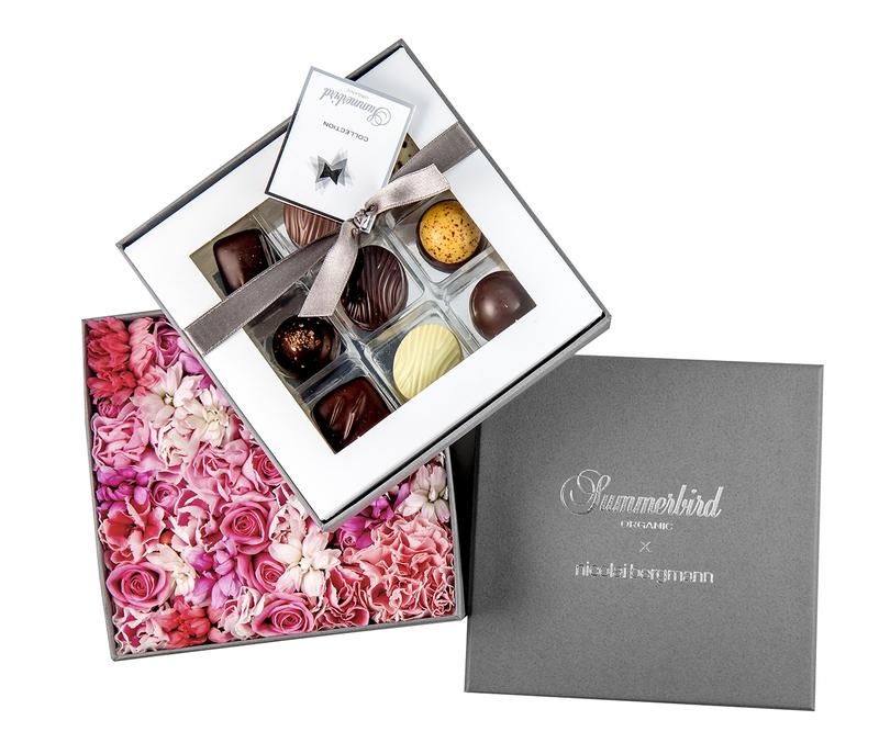 チョコレート&フラワー限定ギフトボックス(ロマンス)
