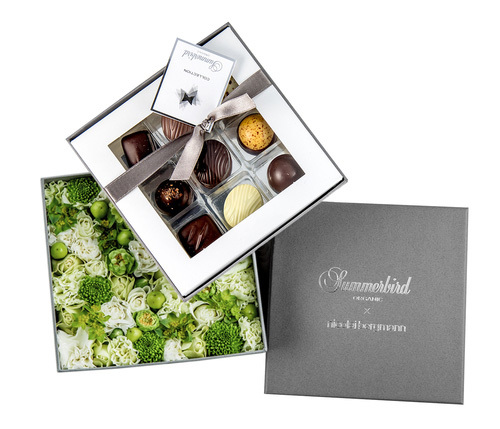 チョコレート&フラワー限定ギフトボックス(グレイス)